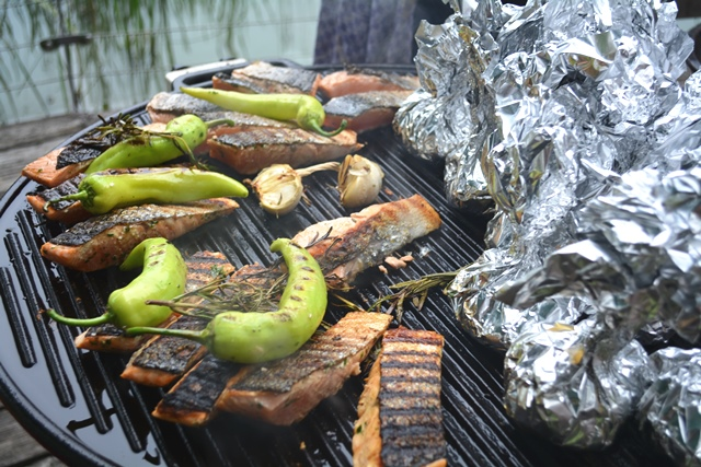 barbecuebuffet limettenlachs