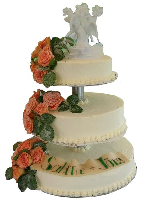 Klassische Hochzeitstorten
