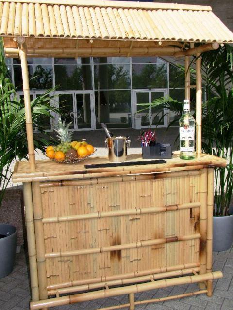 Klassische Cocktailbars Bambus Bar