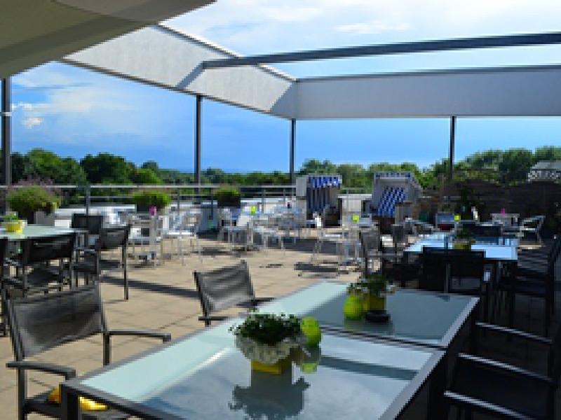 Spezielle Locations : Feiern auf der Dachterrasse